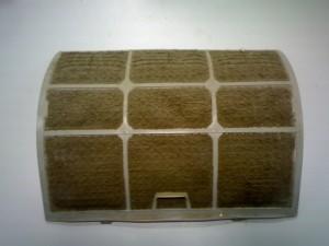 загрязненный фильтр